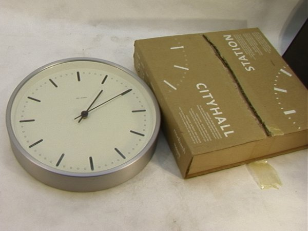 22: Arne Jacobsen City Hall Wall Clock. Developed for S