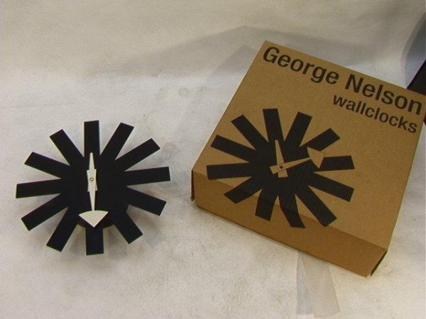 23: George Nelson Asterisk Wall Clock.  Vitra Design Ve