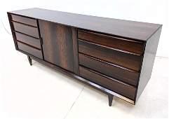FALSTER Danish Modern Rosewood Credenza Sideboard. Cen