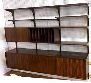 POUL CADOVIUS Cado Wall Unit  Rosewood with 4 uprights
