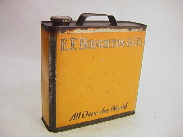 7: EF HOUGHTON & CO Oil Can Gallon size.   Dimensions: