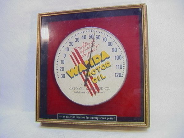 17: WANDA Motor Oil Dial Thermometer inframe. Thermomte