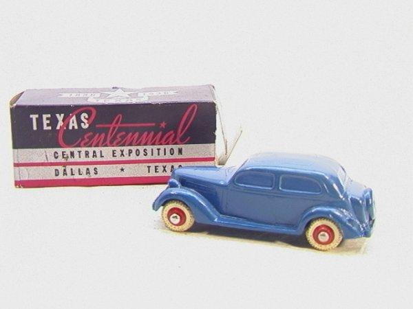 138: Texas Centennial Firestone in Box   Dimensions:  :
