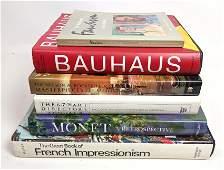 6 Art and Design Books Bauhaus Monet Modern Art etc