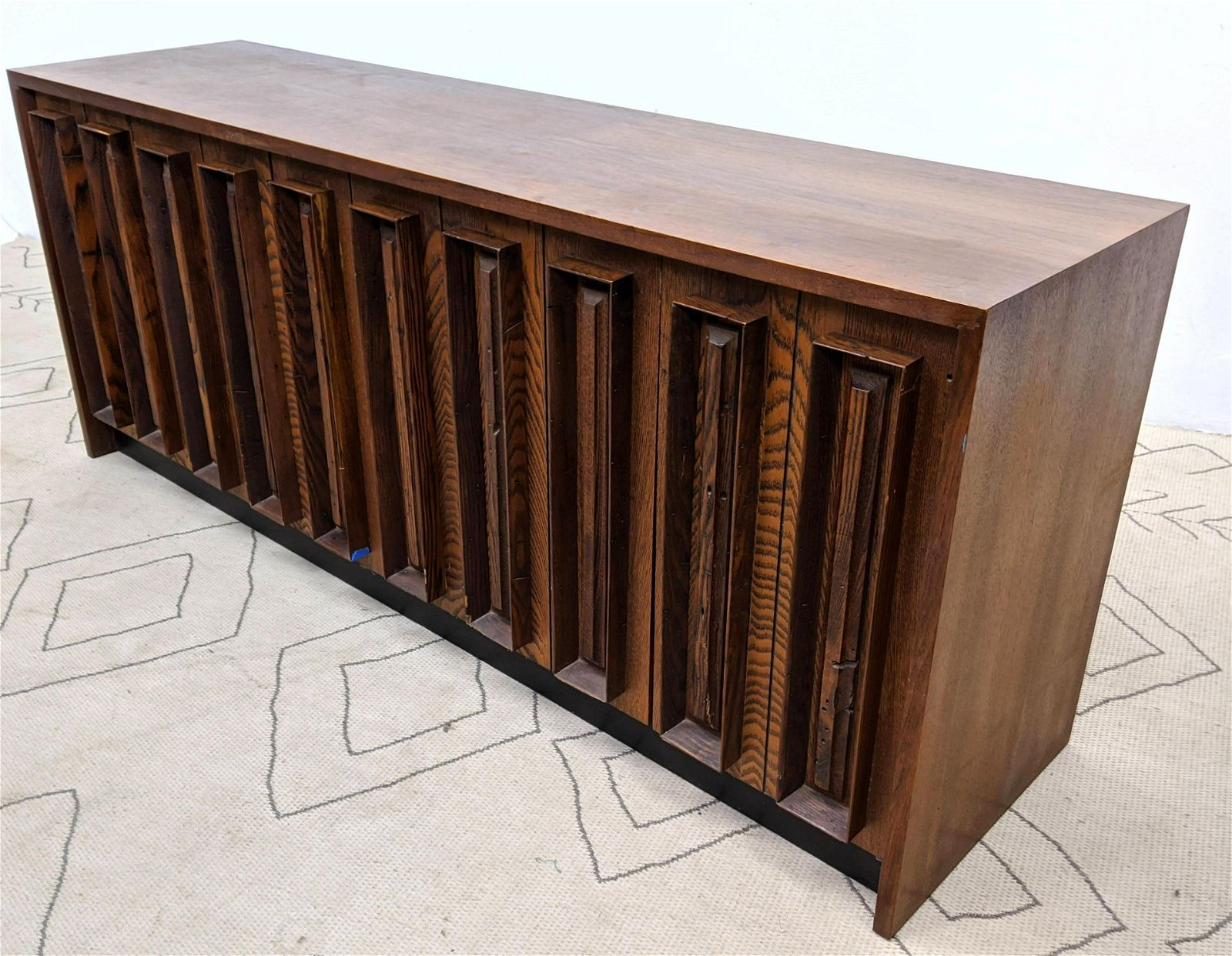 American Modern Credenza Sideboard Cabinet with Dimensi