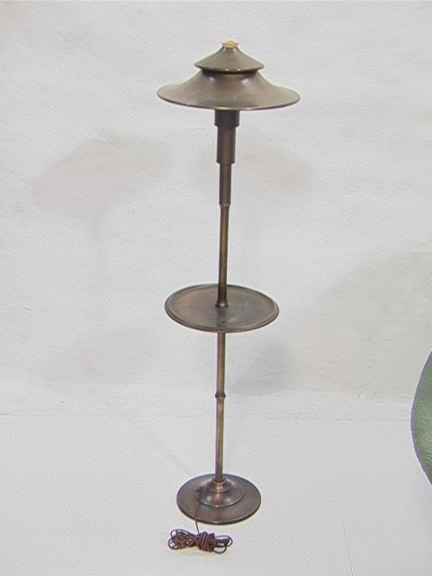 309: Art Deco Floor Table Lamp by Miller Co.  Tapered d