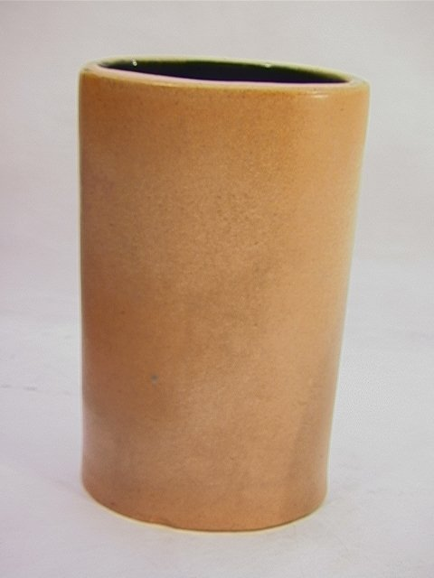 319: Russell Wright Bauer Pottery Vase. Model 6A Atlant