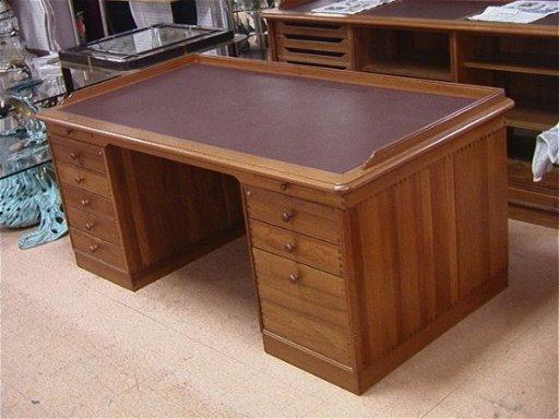 357 Finn N Hansen Denmark Teak Executive Desk Model Nov 11