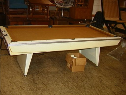 Outstanding 675 Vintage Brunswick Celebrity Pool Table 1960S Download Free Architecture Designs Lukepmadebymaigaardcom