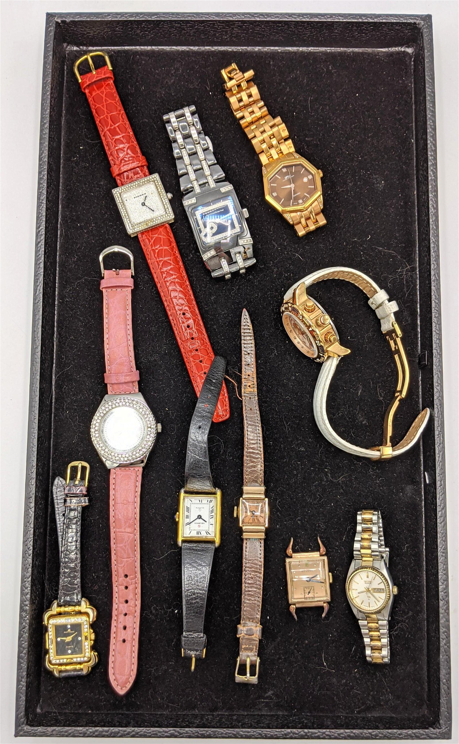 10pc Vintage and Contemporary Watch Lot. DANIEL STEIGER