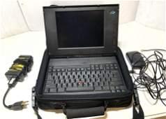 vintage IBM Laptop Computer