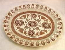Wedgwood Brown Transferware Platter.  Marigold Pa