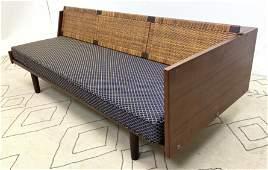 HANS WEGNER Daybed Sofa Couch. Danish Modern Teak. GET