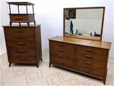 HERITAGE HENREDON Bedroom Set. High and Low Dressers, N
