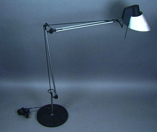 10: Italiana Luce Barbaglia Colombo Desk Lamp with Ad