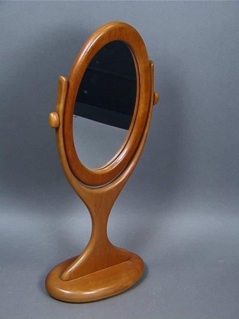 12: Studio Wood Frame Dresser Mirror.  Contemporary A