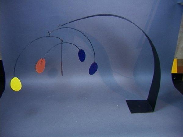 91: Curtis JERE Alexander Calder Mobile Sculpture.  P