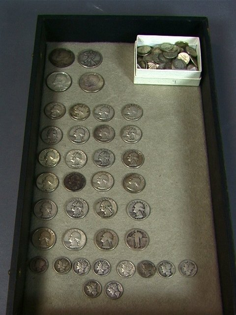 14: American Silver Coin Lot. $17.50 face value.