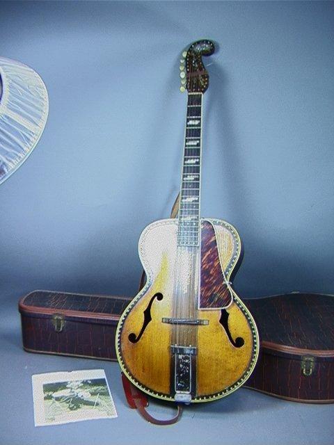 262: TEX RYAN Old Krafstman Guitar Mother of Pearl inl