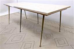 Italian Modern Style Dining Table. GIO PONTI Style