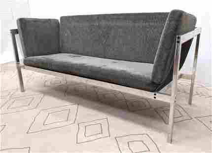 POUL KJAERHOLM style Mesh Side Modernist Sofa Couch. Al