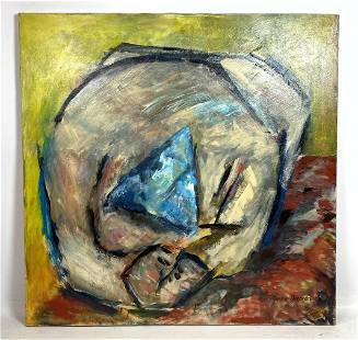 MARLENE BREMER Acrylic Painting on Canvas. Unframed.