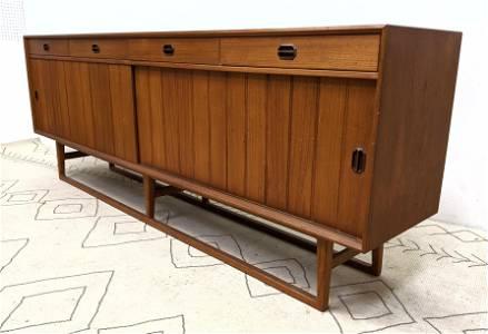 SIBAST Danish Modern Teak Credenza Sideboard Cabinet.