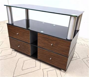 SPECTRAL Custom Electronics Television Cabinet Wood dr