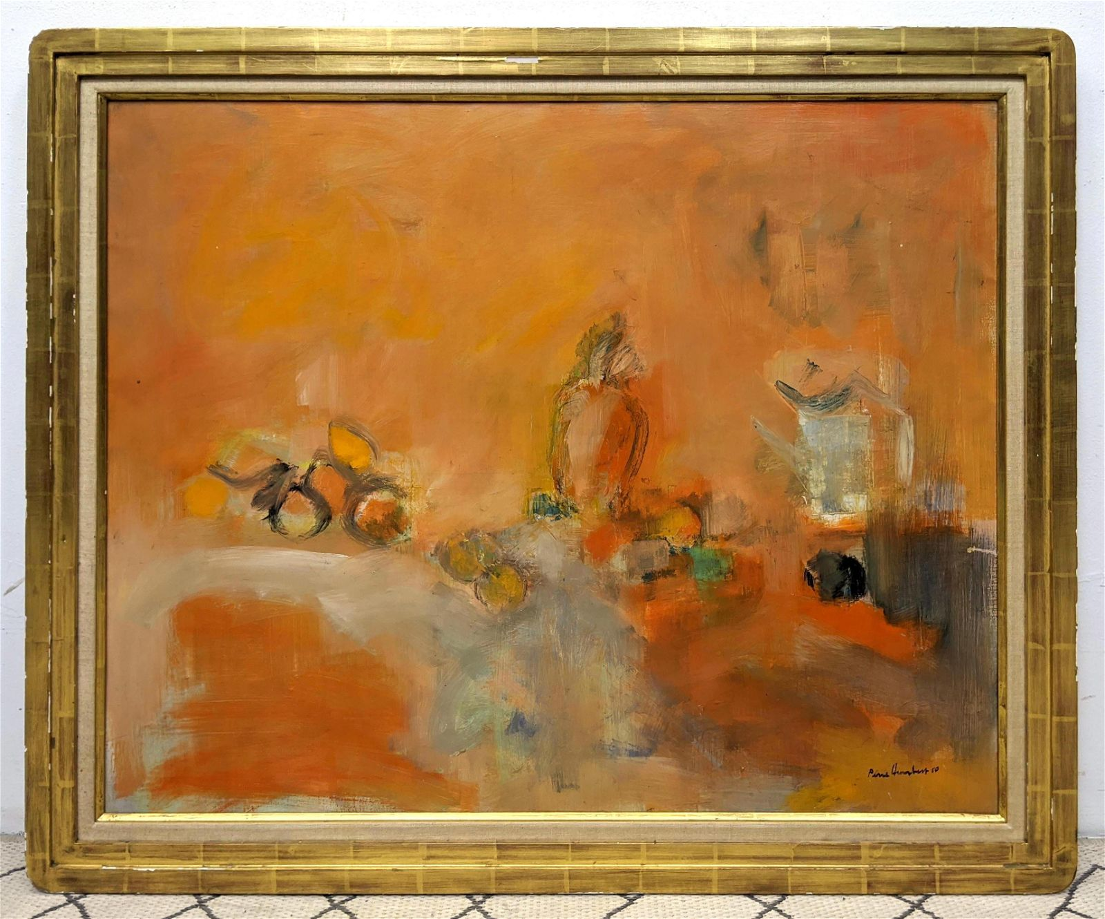 PIERRE HUMBERT Oil Painting on Canvas. Abstract Modern