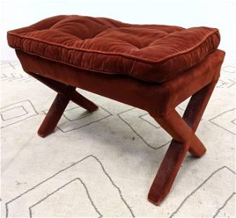 Decorator Upholster x Base Bench Stool.