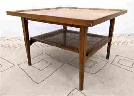 DECLARATION by DREXEL Square Side End Table. Upper leve
