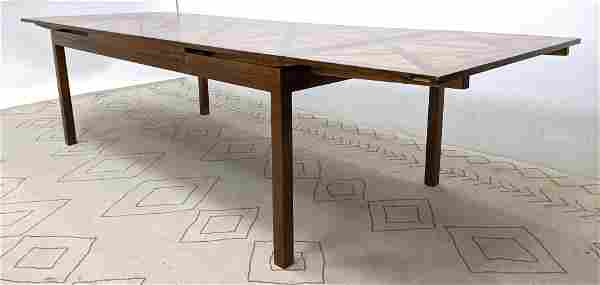 TOMMI PARZINGER Style Dining Table. Refractory Style w