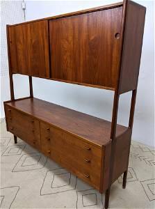 HANS WEGNER RY MOBLER Credenza Cabinet. Doors over draw