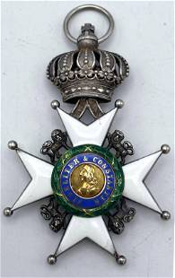 Ducal Saxon Ernestine House Order - Knight's Cross. Me