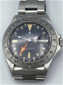Vintage ROLEX Explorer II Wrist Watch. Oyster Perpetual