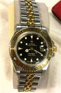 ROLEX Tudor Stainless Steel Watch. Princess Oyster Date