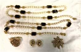 ST JOHN  CINER Vintage Costume Jewelry Lot Two ST JOH
