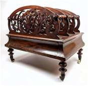 Antique empire Style Magazine Paper Rack Holder with Dr