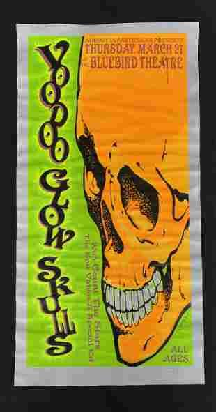 Voodoo Glow Skulls Concert Poster Thursday March 27 at