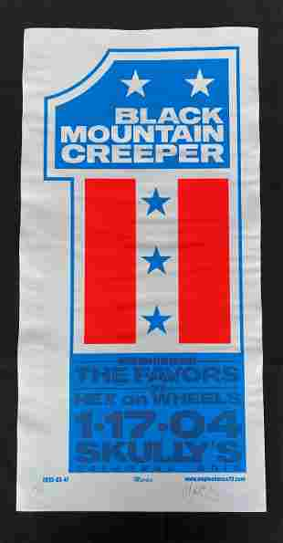 Black Mountain Concert Poster Creeper with Special Gues
