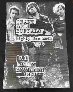 Grant Lee Buffalo and Mighty Joe Moon Concert Poster .