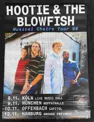 Hootie and the Blowfish Musical Chairs Tour 1998 Multip