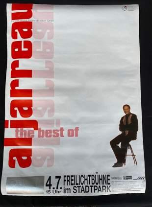Al Jarreau the Best of German Venue Concert Poster July