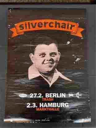 Silver Chair Freakshow German Venue Concert Poster Two