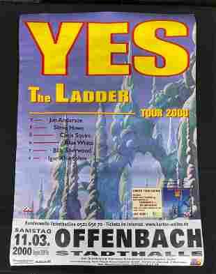 Yes the Ladder Tour March 11 2000 German Venue Concert