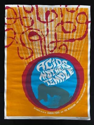 Acid Mothers Temple Concert Poster October 20 Artist Si