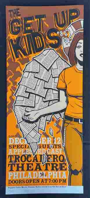 The Get Up Kids with Special Guests Concert Poster at t