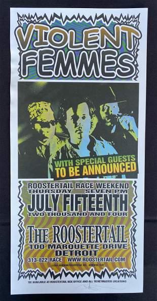 Violent Femmes with Guests Concert Poster July 15 2004