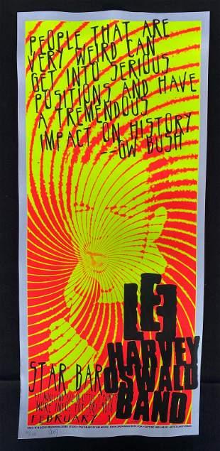 Lee Harvey Oswald Band Concert Poster February 1 2003 O