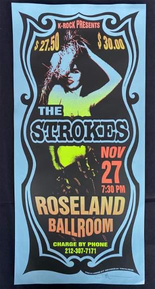 The Strokes Concert Poster November 27 the Roseland Bal